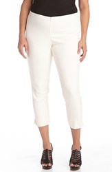 Plus Size Women's Karen Kane Stretch Capri Pants