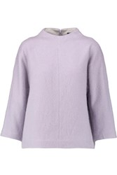 Tibi Knitted Top Lavender