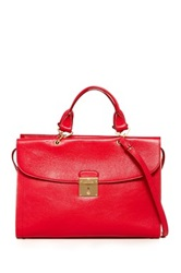 Marc Jacobs The 54 Leather Handbag Red