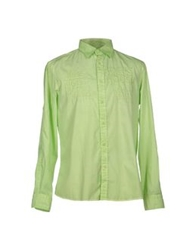 Harmont And Blaine Shirts Acid Green