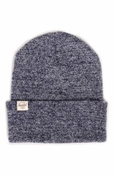 Herschel Men's Supply Co. Frankfurt Beanie Blue Acrylic Heather Navy