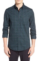 Ben Sherman Men's Trim Fit Gingham Woven Shirt