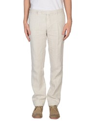 Luigi Borrelli Napoli Trousers Casual Trousers Men Cocoa