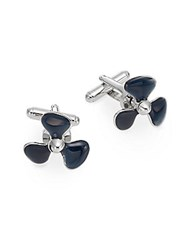 Saks Fifth Avenue Boat Propeller Cuff Links No Color
