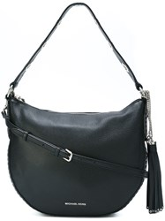 Michael Michael Kors 'Brooklyn' Convertible Shoulder Bag Black