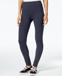 Styleandco. Style Co. Tummy Control Leggings Only At Macy's Blue Heather