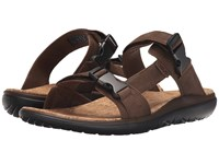Teva Terra Float Slide Lux Dark Earth Men's Sandals Brown