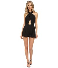 6 Shore Road Chiva Romper Cover Up Black Rock Women's Jumpsuit And Rompers One Piece