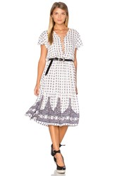 Auguste Gypsy Girl Day Dress White