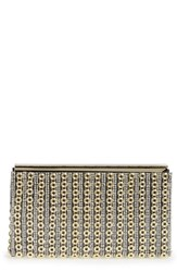 Sondra Roberts Crystal And Chain Clutch