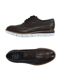 Barracuda Footwear Lace Up Shoes Men Dark Brown