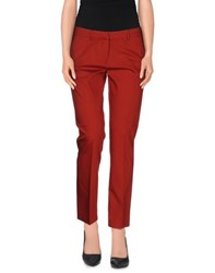 True Royal Trousers Casual Trousers Women Brick Red
