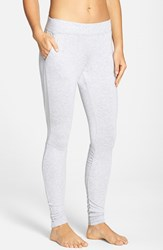Alo Yoga Women's Alo 'Yen' Mesh Inset Ribbed Sweatpants Athletic Heather