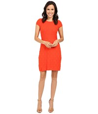 Tommy Bahama Pickford Cap Sleeve Dress Poinciana Women's Dress Orange