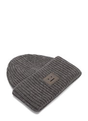 Acne Studios Pansy Wool Knit Hat Grey