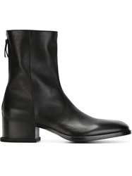 Givenchy Chunky Heel Ankle Boots Black