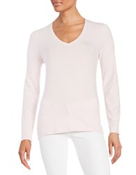 Lord And Taylor V Neck Tee Sweetpea