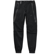Nike Tech Woven 2.0 Tapered Stretch Shell Trousers Black