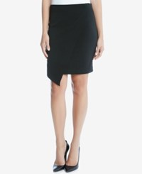 Karen Kane Asymmetrical Pencil Skirt Black