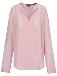 Tommy Hilfiger Kandy Silk Blouse Coral Blush