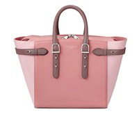 Aspinal Of London Women's Marylebone Medium Tote Rose Dust Dusky Pink Chanterelle