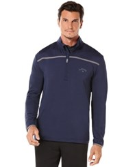 Callaway Golf Performance 1 4 Zip Long Sleeve Premium Base Peacoat