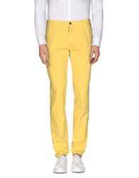 Myths Trousers Casual Trousers Men Yellow