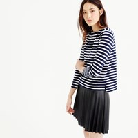 J.Crew Midweight Striped Boatneck T Shirt