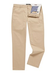 Howick Slim Fit Fraternity Casual Chino Biscuit