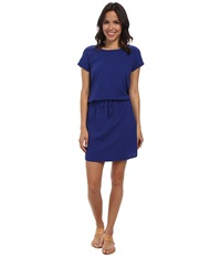 Allen Allen S S Raglan Dress New Blue Women's Dress