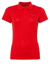 Icepeak Kassidy Polo Shirt Coral Red