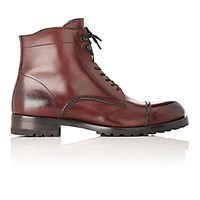 Harry's Of London Harrys Men's Guy L Ankle Boots Burgundy Black Burgundy Black