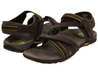 Vionic With Orthaheel Technology Muir Vionic Sport Recovery Adjustable Sandal Chocolate Green Women's Sandals Brown