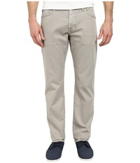 Ag Adriano Goldschmied Graduate Tailored Leg Sueded Stretch Twill In Sulfur Ground Sulfur Ground Men's Jeans White