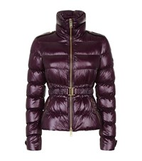 Burberry Ashendon Puffer Jacket Female Purple
