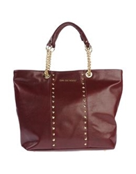 Love Sex Money Handbags Maroon