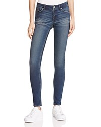 Cheap Monday Snap Woven Skinny Jeans In Burnt Blue