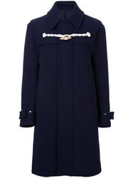 Cityshop One Toggle Duffle Coat Blue