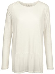 Fat Face Surrey Woven Top Ivory
