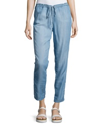 Cj By Cookie Johnson Denim Drawstring Pants Dennis