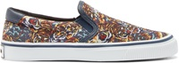 Kenzo Multicolor Flying Tiger Slip On Sneakers