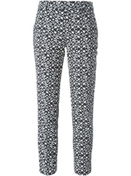 Neil Barrett Star Jacquard Trousers Multicolour