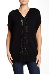 Escada Shima Knit Tunic Black
