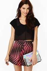 Nasty Gal Color Collide Skirt