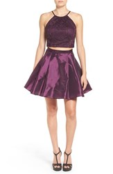 Bee Darlin Women's Two Piece Fit And Flare Dress