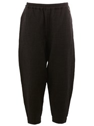 Toogood Tapered Drop Crotch Trousers Black