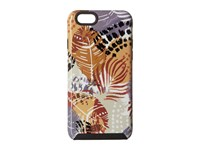 Vera Bradley Hybrid Case For Iphone 6 6S Painted Feathers Cell Phone Case Multi
