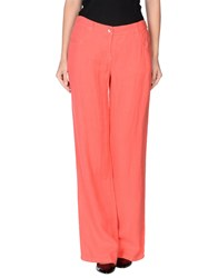 Marella Trousers Casual Trousers Women Coral