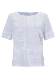John Lewis Capsule Collection Abstract Top Blue