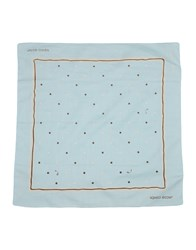 Jacob Cohen Jacob Coh N Square Scarves Sky Blue